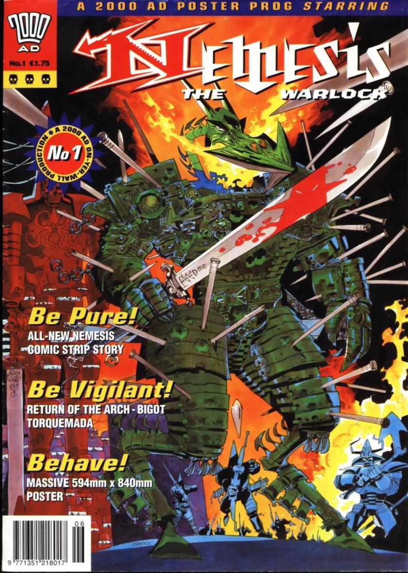 2000AD's Nemesis The Warlock