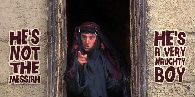 An Sionnach Fionn, He's Not The Messiah, He's A Very Naughty Boy