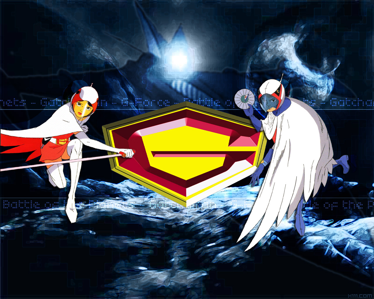 G Force Cartoon Characters Names : Battle of the planets an sionnach fionn