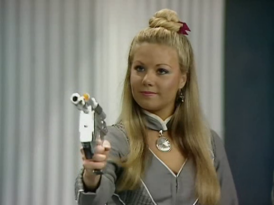 Glynis Barber as Soolin in Blake's 7