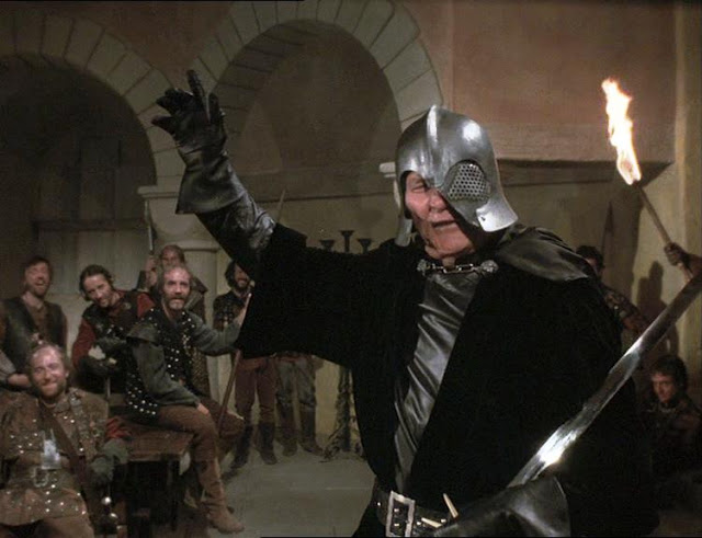 Jack Palance as Voltan in Hawk the Slayer