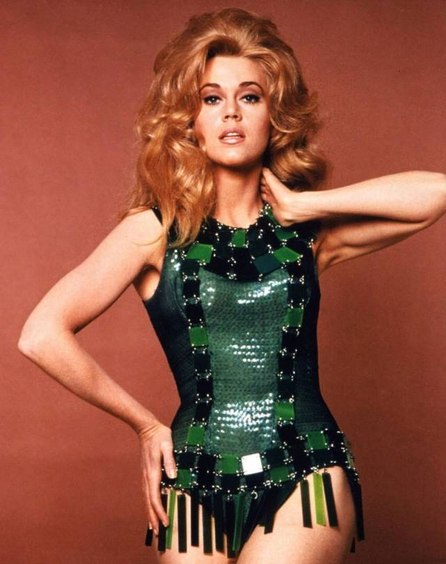 Jane Fonda is Barbarella