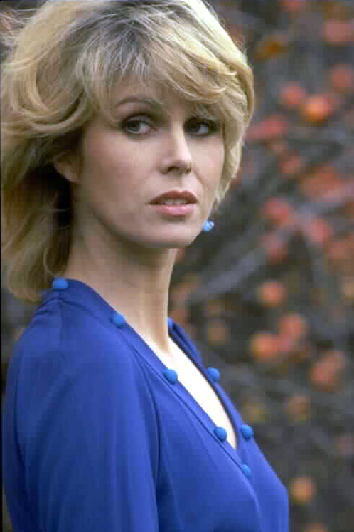 Joanna Lumley as Sapphire in cult TV show Sapphire and Steel