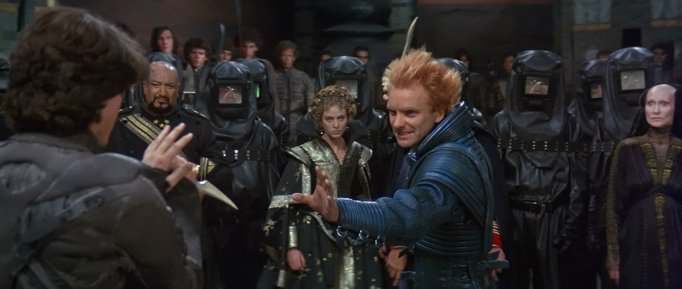 Kyle MacLachlan and Sting in David Lynch's cinematic vision of Frank Herbert's sci-fi classic Dune