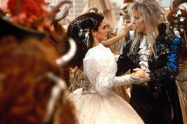 Labyrinth with Jennifer Connelly and David Bowie - 1986