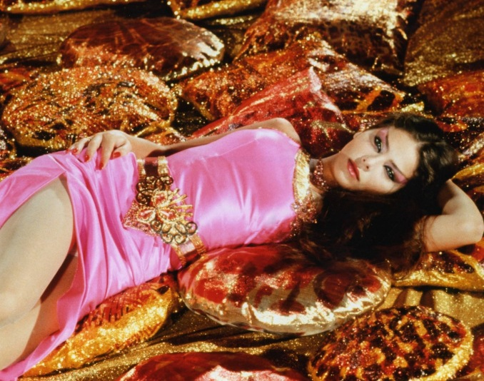 Ornella Muti as Princess Aura, daughter of Ming the Merciless, in the cult movie Flash Gordon