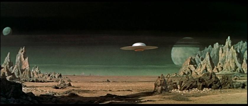 The 1956 sci-fi classic Forbidden Planet