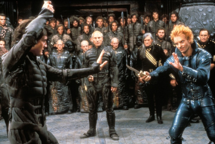The Frank Herbert Sci-Fi classic Dune as imagined by director David Lynch