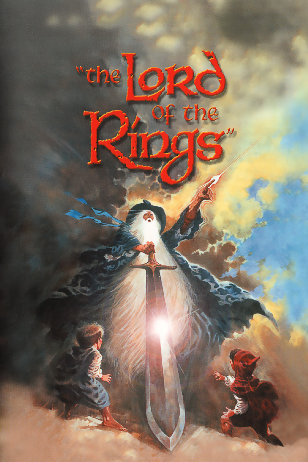 The Lord Of The Rings Animated Trilogy