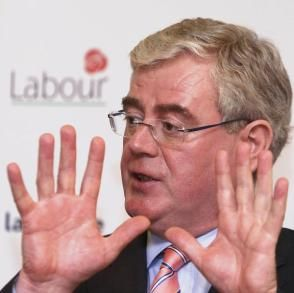 Éamon Gilmore - Nothing in my hand, nothing up my sleeve. So trust me, I'm a politician!