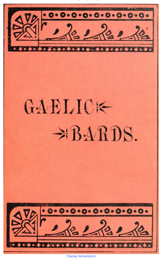 The National Library of Scotland, Early Gaelic Book Collection