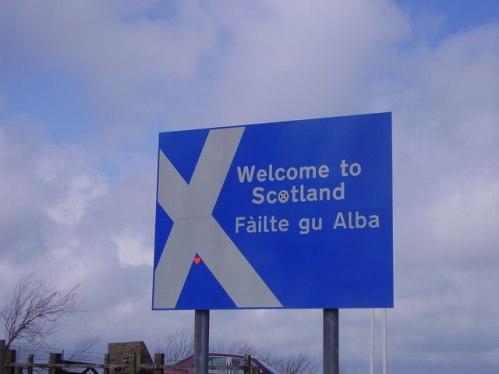 Sign of Albain or Scotland