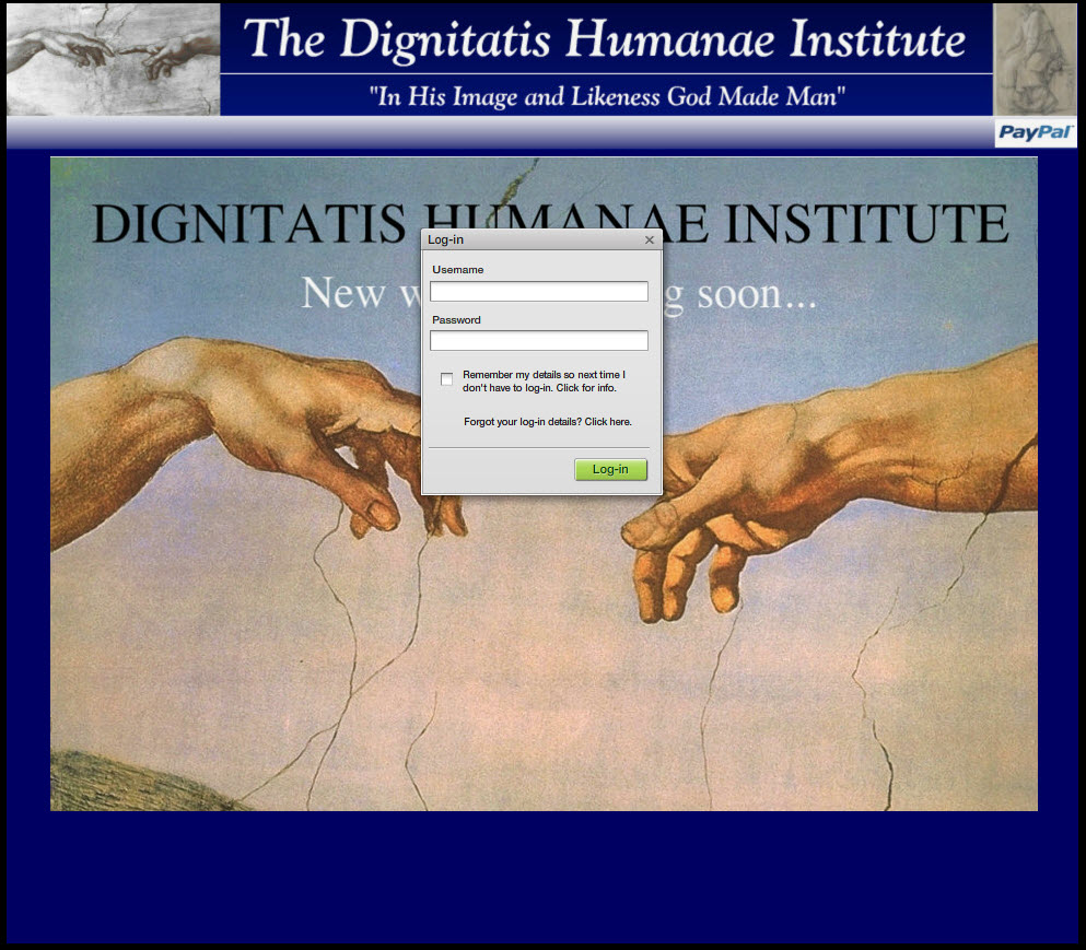 dignitatis humanae institute members only of his adult life.