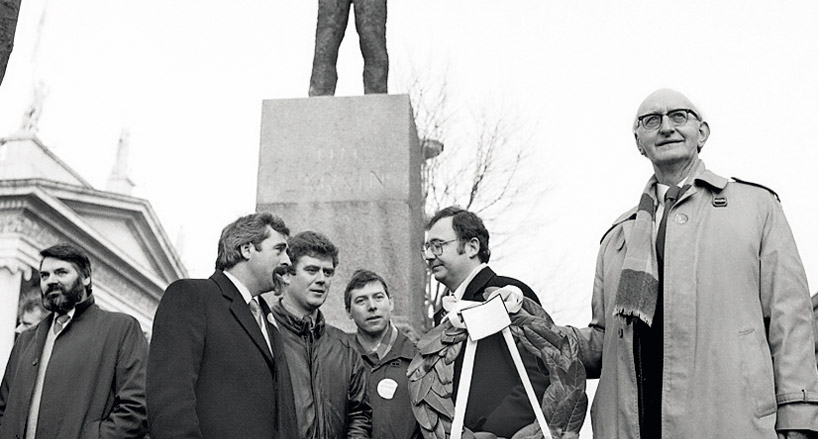 From Official Sinn Féin to the Workers Party to Democratic Left to the Labour Party, Proinsias de Rossa, Éamon Gilmore, Pat Rabbitte, and Tomás Mac Giolla, the former Chairman of the Army Council of the Official IRA