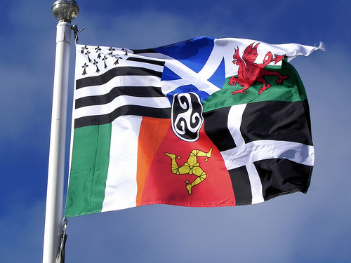 The Pan-Celtic flag - six nations, one soul