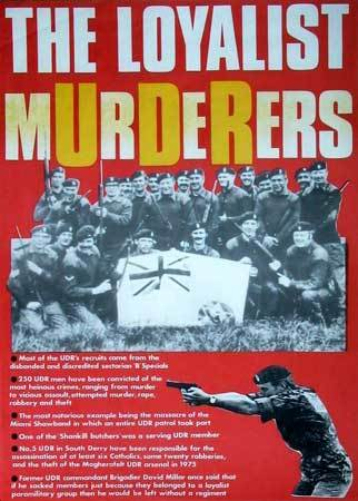 The Loyalist Murderers - the British UDR militia and Britain's state-sponsored terrorism in Ireland