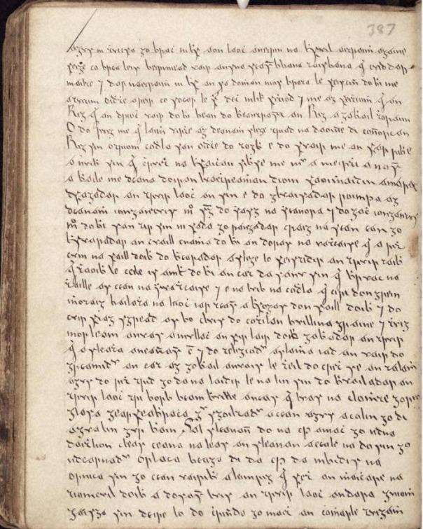 The Irish script of Dubhghlas de hÍde