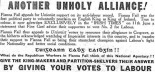 An Irish Nationalist Labour Party Against The British Unionist Vote?