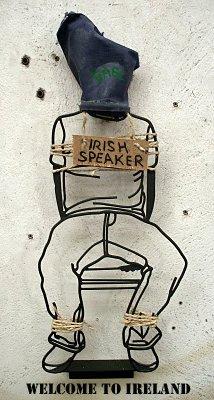 In Ireland No One Can Hear You Speak