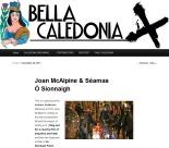 Bella Caledonia, Joan McAlpine And Séamas Ó Sionnaigh