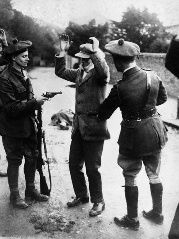 RIC Reserve, the Black and Tans, Policing Ireland
