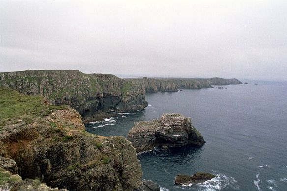 Na Fomhóraigh - Toraigh, in English Tory Island