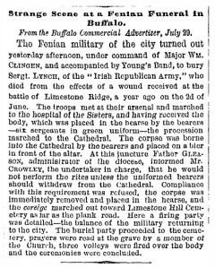 Irish Republican Army - New York Times - Aug 1, 1867