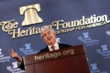 Newt Gingrich At The Heritage Foundation