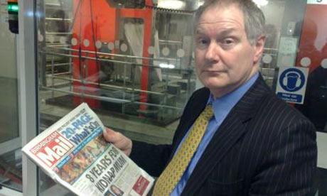 Roy Greenslade, media lecturerer, journalist and former newspaper editor