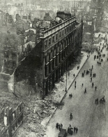 The GPO, Dublin, Destroyed By The British Occupation Forces, 1916