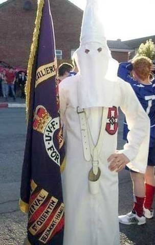 British Nationalism in Ireland the Orange Order identifies with the Ku Klux Klan or KKK