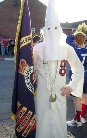 British Nationalism in Ireland the Orange Order identifies with the Ku Klux Klan or KKK