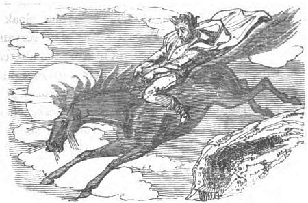 Each Uisce - the supernatural water-horse, kelpie or selkie of Irish, Scottish and Manx folklore