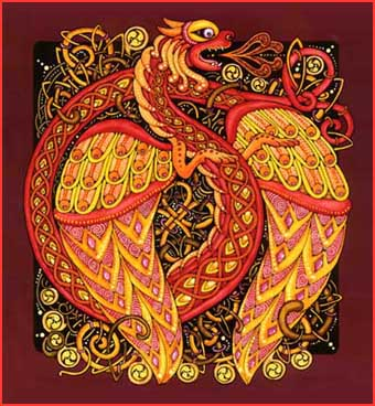 The Celtic Dragon - more a modern myth than an authentic original