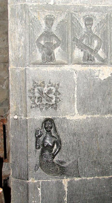 The Norman-Irish Mermaid or Muruch of Cluain Fearta