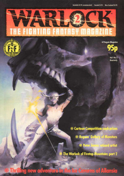 Warlock, The Fighting Fantasy Magazine Number 2 1984