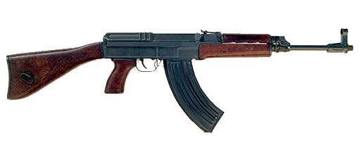 The Czech-made VZ.58 automatic assault rifle imported by British Intelligence to arm British terrorists in Ireland