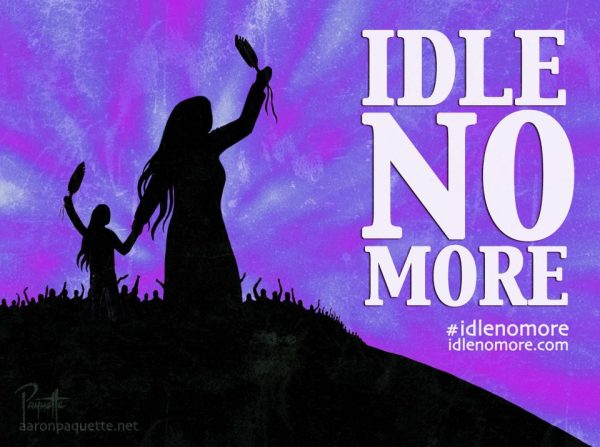 Idle No More, the Canadian and North American indigenous rights' movment