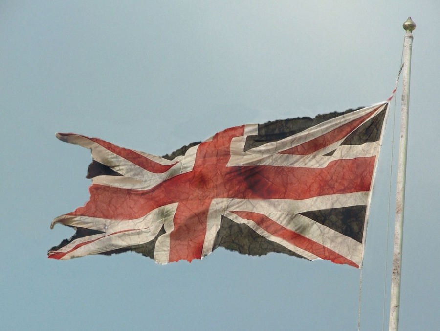 The British presence in Ireland - a faded and tattered thing