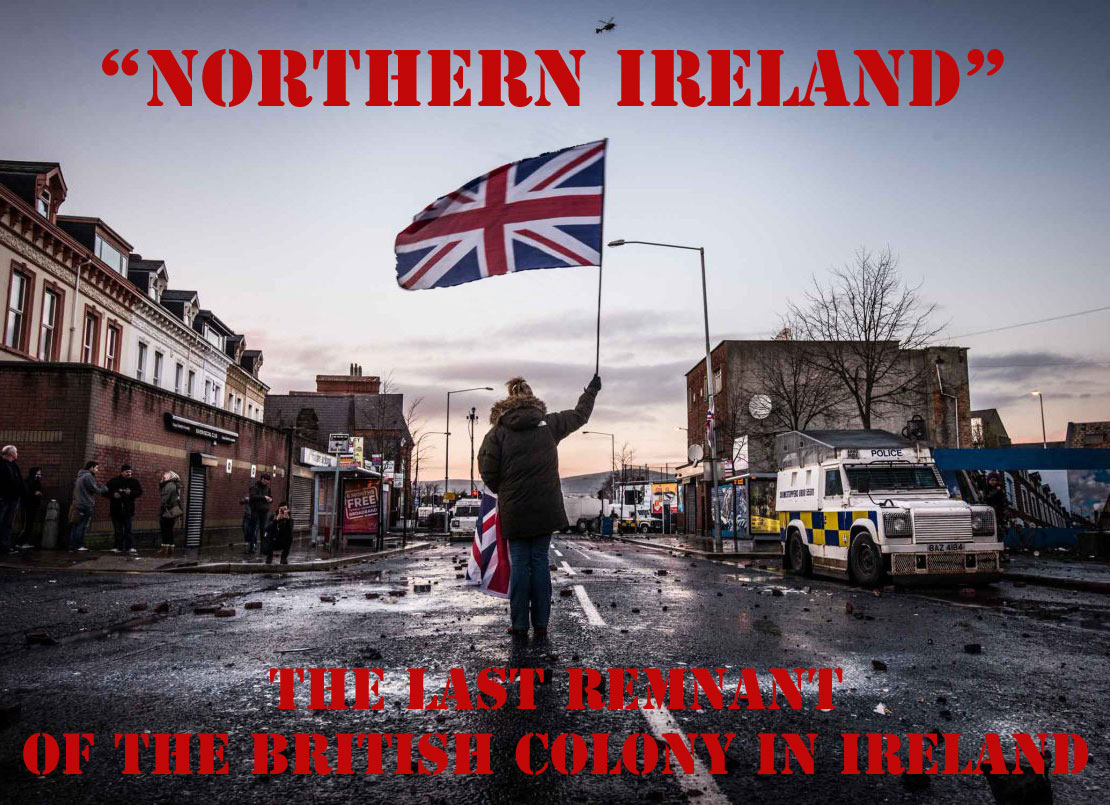 The rump british colony in ireland goes into monty python mode an northern ireland northern ireland the last remnant malvernweather Choice Image
