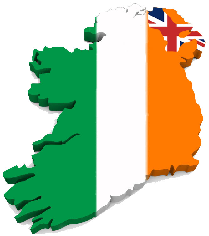 The British Occupied North of Ireland or the real Northern Ireland 48% Protestant, 47% British
