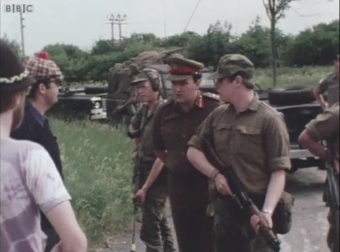 General Sir Frank Kitson, the British Army's death squad supremo in Ireland during the 1970s