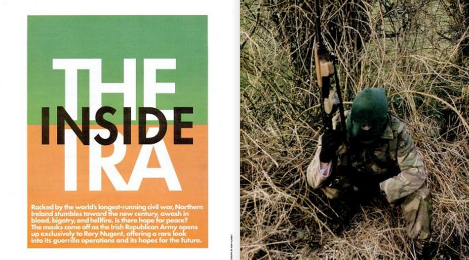 Inside The IRA (Image: Rory Nugent, Spin Magazine, 1994)