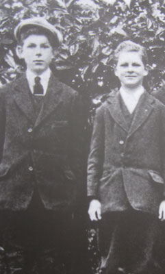 Cecil O'Donovan, age 18, and his brother Aidan, age 14, murdered by the Royal Irish Constabulary, 20.02.1921