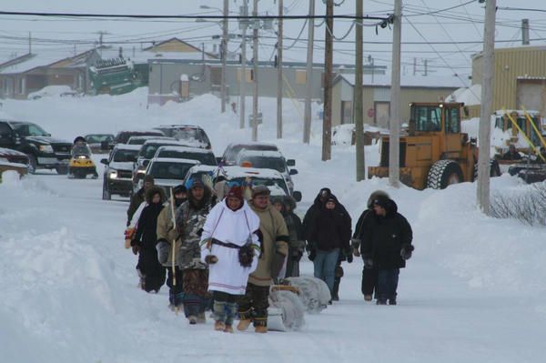 The Journey of Nishiyuu - supporting indigenous rights and the Idle No More movement in Canada and Québec