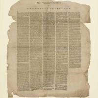 The Proclamation of Independence, 1803