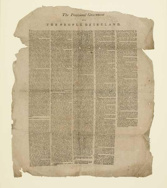 The Proclamation of Independence July 23rd 1803