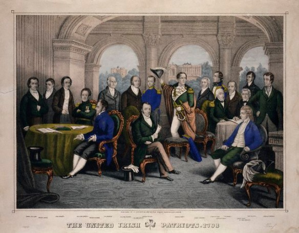 Theobald Wolfe Tone Robert Emmet and the Society of the United Irishmen 1798
