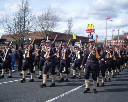 Celebrating 100 years of terrorising the people of Ireland - the British Brown Shirts?