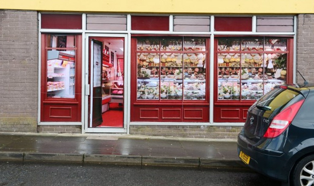 A fake shop in Enniskillen in the British Occupied North of Ireland - a fake economy to match a fake state